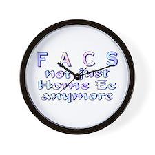 FACS not Home Ec Wall Clock