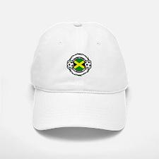 Hardcore Jamaica Soccer Baseball Baseball Cap
