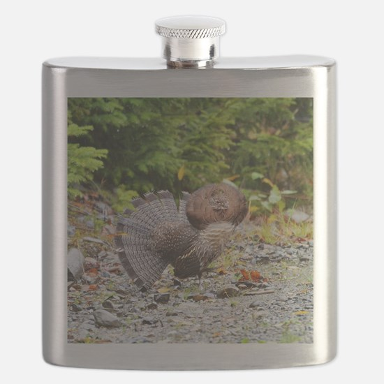 Ruffed Grouse Flask