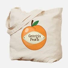 Georgia Peach Tote Bag