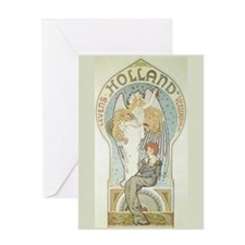 Angel and Mother Greeting Card