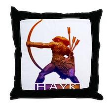 Hayk the Hero Throw Pillow