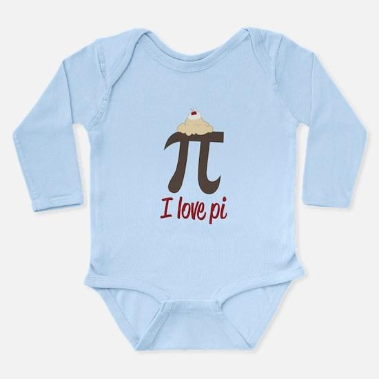 I Love Pi Onesie Romper Suit