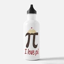 I Love Pi Sports Water Bottle