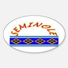 SEMINOLE INDIAN PATCHWORK Decal