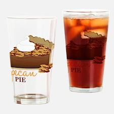 Pecan Pie Drinking Glass