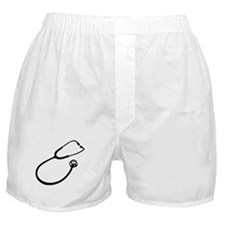Stethoscope doctor Boxer Shorts