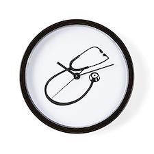 Stethoscope doctor Wall Clock