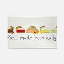 Made Fresh Daily Rectangle Magnet
