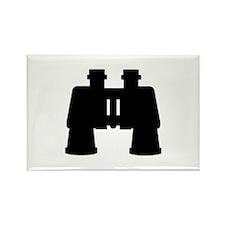 Binoculars Rectangle Magnet