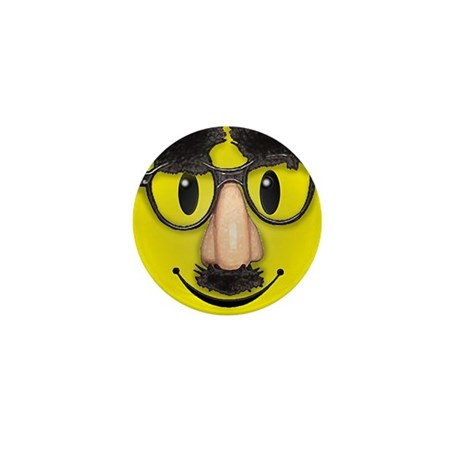 Smiley Disguise Lil Button (100 pack)