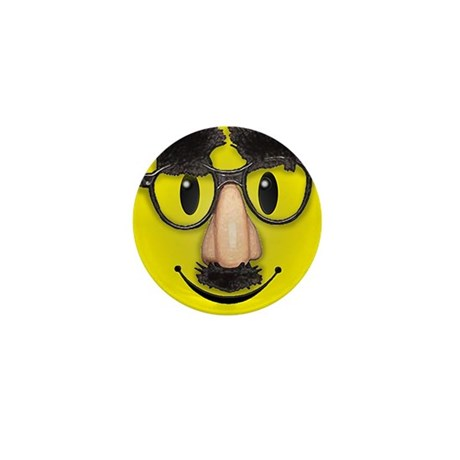 Smiley Disguise Lil Button (10 pack)