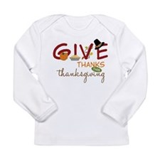 Thanksgiving Long Sleeve Infant T-Shirt