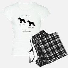 2 Schauzers - Cropped Tails/Natural Ears Pajamas