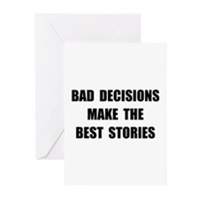 Bad Decisions Greeting Cards (Pk of 20)