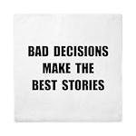 Bad Decisions Queen Duvet