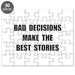 Bad Decisions Puzzle
