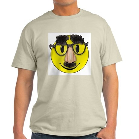 Smiley Disguise Ash Grey T-Shirt