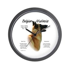 Belgian Malinois Wall Clock