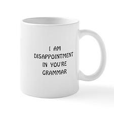 Disappointment Grammar Mug