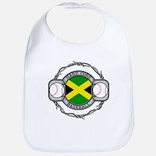 Jamaica Baseball Bib