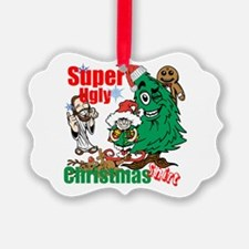 Super Ugly Christmas Shirt Ornament