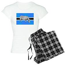 Botswana Football Flag Pajamas