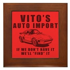 Vito's Auto Import Framed Tile