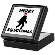 Merry Squatchmas Keepsake Box
