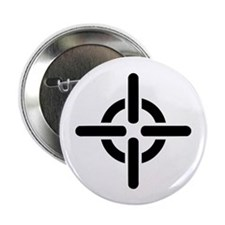 "Crosshairs 2.25"" Button (10 pack)"