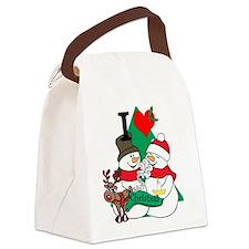 Smelling Deer Fart Canvas Lunch Bag