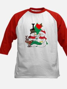 Smelling Deer Fart Kids Baseball Jersey