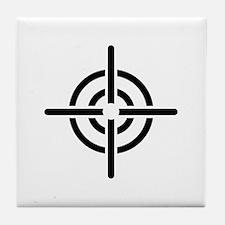 Crosshairs Tile Coaster