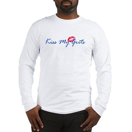 Kiss My Grits Long Sleeve T-Shirt