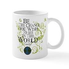 Be the Change - Earth - Green Vine Mug