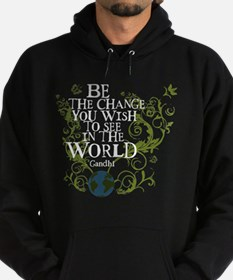 Be the Change - Earth - Green Vine Hoodie