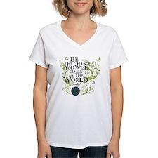 Be the Change - Earth - Green Vine Shirt