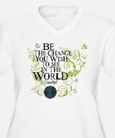 Be the Change - Earth - Green Vine T-Shirt