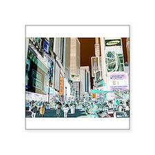"""Times Square 3 Square Sticker 3"""" x 3"""""""