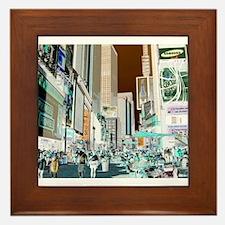 Times Square 3 Framed Tile