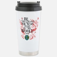 Be the Change - Earth - Red Vine Travel Mug