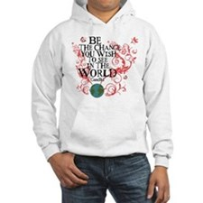 Be the Change - Earth - Red Vine Hoodie