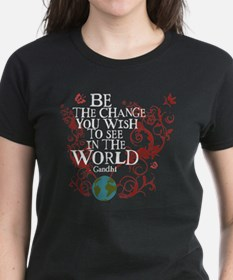 Be the Change - Earth - Red Vine Tee
