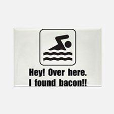 Found Bacon Rectangle Magnet (10 pack)