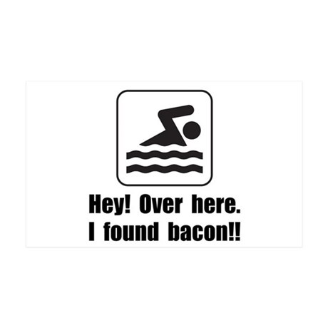 Found Bacon 35x21 Wall Decal