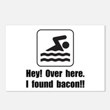 Found Bacon Postcards (Package of 8)