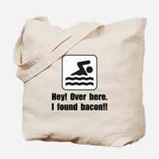 Found Bacon Tote Bag