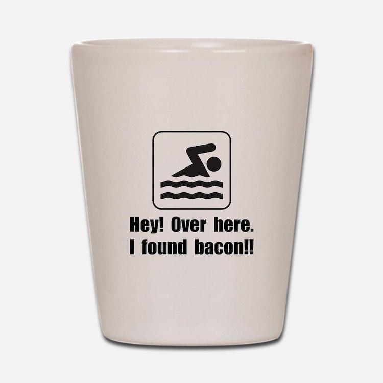 Found Bacon Shot Glass