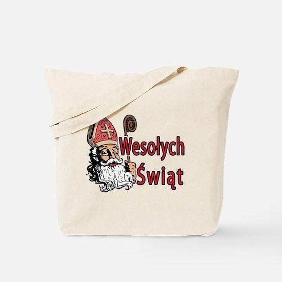 Wesolych Swiat Tote Bag