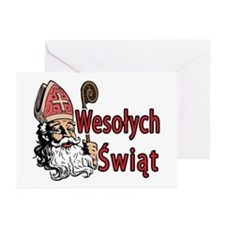 Wesolych Swiat Greeting Cards (Pk of 20)